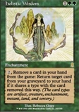 Magic the Gathering Odyssey Single Holistic Wisdom FOIL