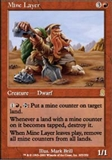 Magic the Gathering Odyssey Single Mine Layer UNPLAYED (NM/MT)
