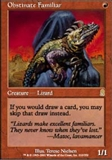 Magic the Gathering Odyssey Single Obstinate Familiar - NEAR MINT (NM)