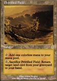 Magic the Gathering Odyssey Single Petrified Field UNPLAYED (NM/MT)