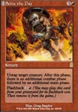 Magic the Gathering Odyssey Singles 4x Seize the Day UNPLAYED (NM/MT)