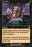 Magic the Gathering Odyssey Single Tombfire - NEAR MINT (NM)