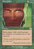 Magic the Gathering Onslaught Single Biorhythm UNPLAYED (NM/MT)