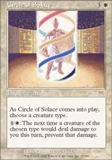 Magic the Gathering Onslaught Singles 4x Circle of Solace - NEAR MINT (NM)