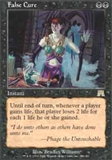 Magic the Gathering Onslaught Single False Cure UNPLAYED (NM/MT)