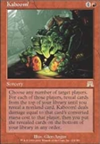 Magic the Gathering Onslaught Singles 4x Kaboom! UNPLAYED (NM/MT)