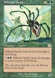 Magic the Gathering Onslaught Singles 4x Silklash Spider UNPLAYED (NM/MT)