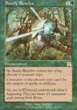 Magic the Gathering Onslaught Single Steely Resolve UNPLAYED (NM/MT)