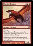 Magic the Gathering Duel Deck Single Thunder Dragon UNPLAYED (NM/MT)