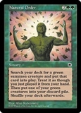 Magic the Gathering Portal 1 Single Natural Order - SLIGHT PLAY (SP)