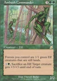 Magic the Gathering Scourge Single Ambush Commander FOIL