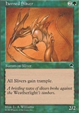 Magic the Gathering Tempest Single Horned Sliver - NEAR MINT (NM)