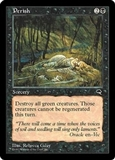 Magic the Gathering Tempest Single Perish LIGHT PLAY (NM)