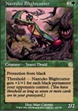 Magic the Gathering Torment Single Nantuko Blightcutter FOIL