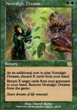 Magic the Gathering Torment Singles 4x Nostalgic Dreams UNPLAYED (NM/MT)