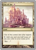Magic the Gathering Unhinged Single City of Ass FOIL