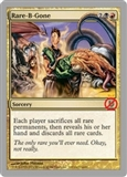 Magic the Gathering Unhinged Single Rare-B-Gone Foil