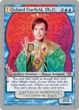 Magic the Gathering Unhinged Single Richard Garfield, Ph.D. FOIL