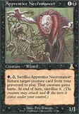 Magic the Gathering Urza's Destiny Single Apprentice Necromancer Foil