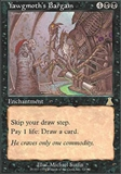Magic the Gathering Urza's Destiny Single Yawgmoth's Bargain - NEAR MINT (NM)