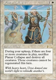 Magic the Gathering Urza's Legacy Single Planar Collapse UNPLAYED (NM/MT)
