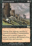 Magic the Gathering Urza's Saga Single Contamination - NEAR MINT (NM)