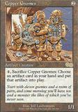 Magic the Gathering Urza's Saga Single Copper Gnomes - NEAR MINT (NM)