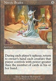 Magic the Gathering Urza's Saga Single Noetic Scales UNPLAYED (NM/MT)