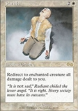 Magic the Gathering Urza's Saga Single Pariah - NEAR MINT (NM)