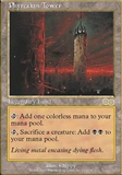 Magic the Gathering Urza's Saga Single Phyrexian Tower - NEAR MINT (NM)