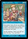 Magic the Gathering Urza's Saga Single Show and Tell LIGHT PLAY (NM)