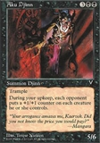Magic the Gathering Visions Single Aku Djinn UNPLAYED (NM/MT)