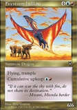 Magic the Gathering Visions Single Firestorm Hellkite UNPLAYED (NM/MT)