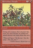 Magic the Gathering Visions Single Relentless Assault - MODERATE PLAY (MP)