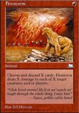 Magic the Gathering Weatherlight Single Firestorm LIGHT PLAY (NM)