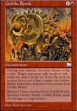 Magic the Gathering Weatherlight Single Goblin Bomb - SLIGHT PLAY (SP)