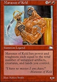 Magic the Gathering Weatherlight Single Maraxus of Keld UNPLAYED (NM/MT)