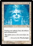 Magic the Gathering Weatherlight Single Serenity UNPLAYED (NM/MT)