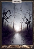 Magic the Gathering Unhinged Single Swamp UNPLAYED (NM/MT)