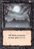 Magic the Gathering 3rd Ed (Revised) Single Bad Moon UNPLAYED (NM/MT)