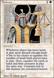 Magic the Gathering 3rd Ed (Revised) Single Balance LIGHT PLAY (NM)