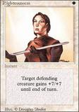 Magic the Gathering 3rd Ed (Revised) Single Righteousness - SLIGHT PLAY (SP)