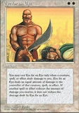 Magic the Gathering 4th Edition Single Eye for an Eye - NEAR MINT (NM)