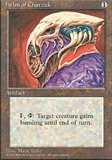 Magic the Gathering 4th Edition Single Helm of Chatzuk - NEAR MINT (NM)