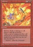Magic the Gathering 4th Edition Single Inferno - NEAR MINT (NM)