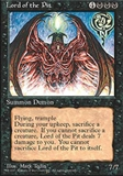 Magic the Gathering 4th Edition Single Lord of the Pit - NEAR MINT (NM)