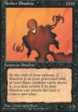 Magic the Gathering 4th Edition Single Nether Shadow - NEAR MINT (NM)