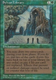 Magic the Gathering 4th Edition Single Sylvan Library - NEAR MINT (NM)