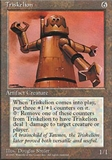 Magic the Gathering 4th Edition Single Triskelion UNPLAYED (NM/MT)