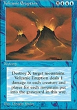 Magic the Gathering 4th Edition Single Volcanic Eruption - NEAR MINT (NM)